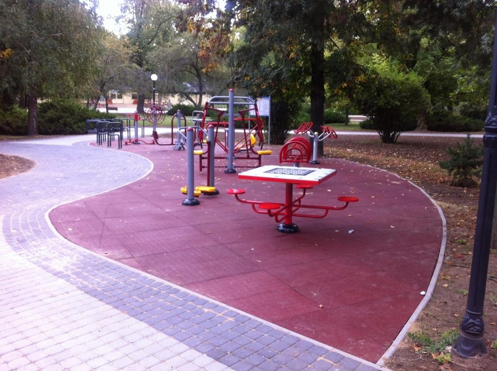 Nyíregyháza Sóstógyógyfürdő Senior park - kondi park Sóstó és sport