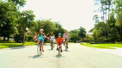 Kerékpározás Sóstón, sóstó és sport